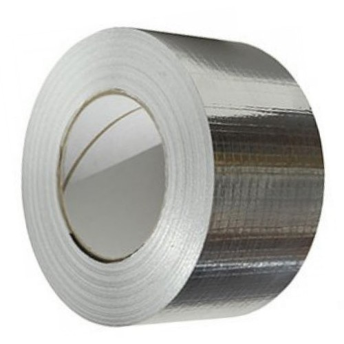 50mm Nylon Reinforced Aluminium Foil Tape