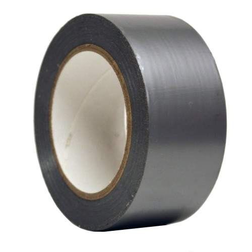 PVC Ducting Tape (Silver) - HEVAC Tape