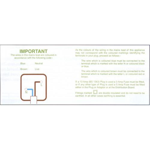 B3 - Plug Code Wiring Tape / ID Labels