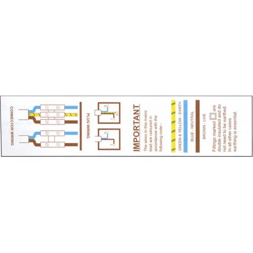 V2 - Plug Code Wiring Tape / ID Labels