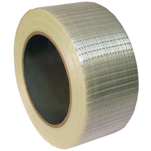 Reinforced Crossweave Filament Tape - 50mm x 66m (Price per roll)