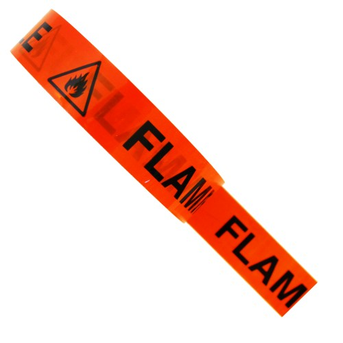 FLAMMABLE - Hazard Tape