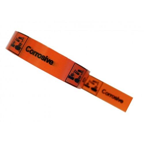 Corrosive - Hazard Tape