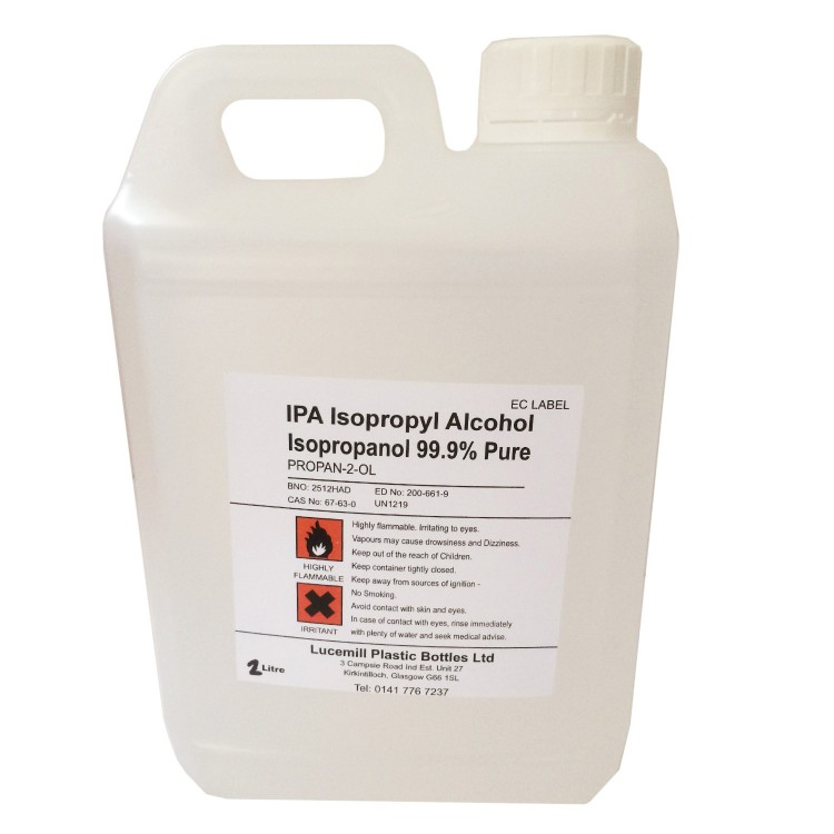 Isopropanol Alcohol - High Strength (5L)