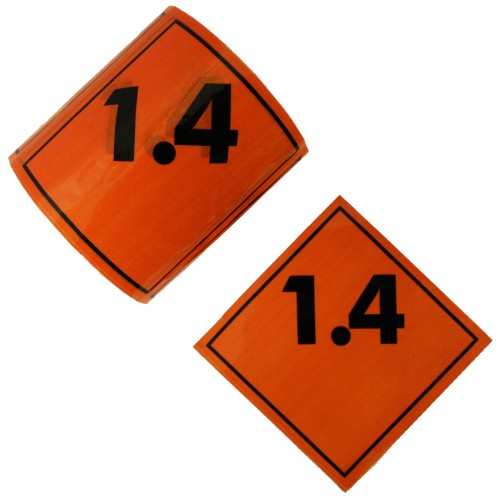 1.4 - Premium Hazard Labels