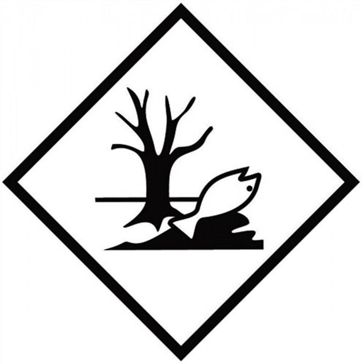 Environmental Hazard Symbol Hazard Labels