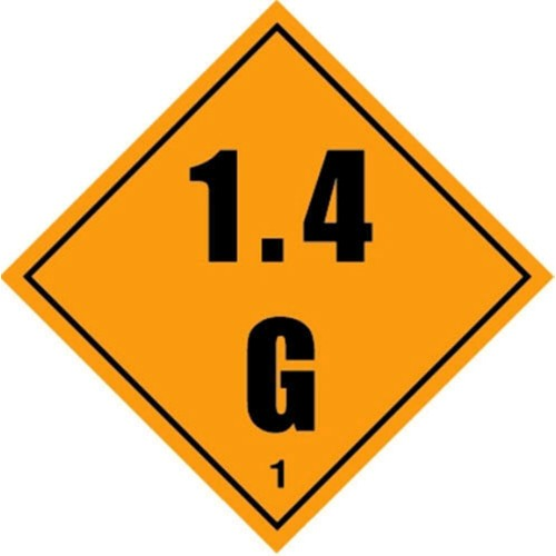 1 1.4 G - Hazard Labels