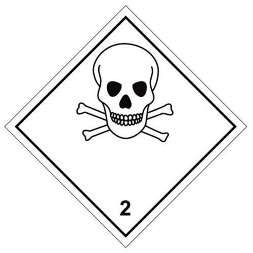 2 (Toxic) - Hazard Labels