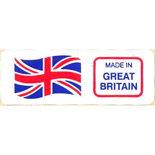 MADE IN GREAT BRITAIN - Retail Promotion Labels