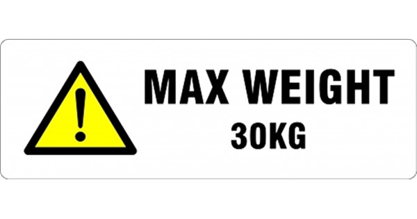max weight 30kg