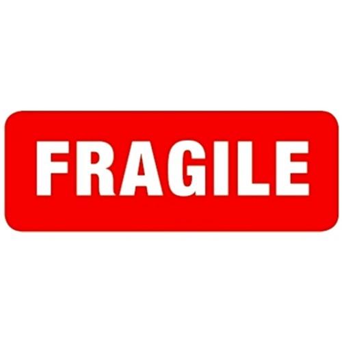 FRAGILE - Parcel Labels