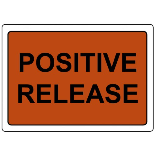 POSITIVE RELEASE - Quality Control Labels