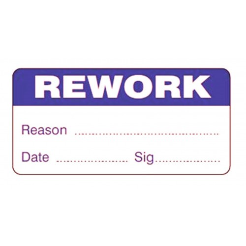 REWORK - Quality Control Labels
