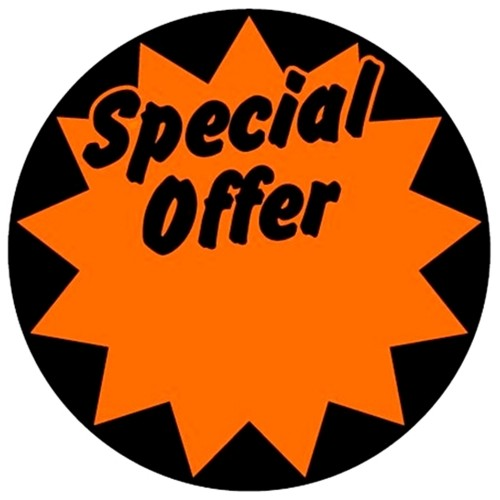 Special Offer (Large) - Retail Promotion Labels