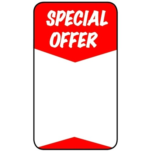 SPECIAL OFFER - Retail Promotion Labels