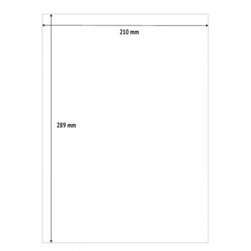 210 x 289mm (1/Sheet) - A4 Sheet Labels (100 Sheets)