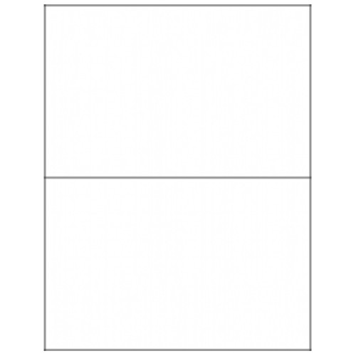 210 x 148.5mm (2/Sheet) - A4 Sheet Labels (100 Sheets)