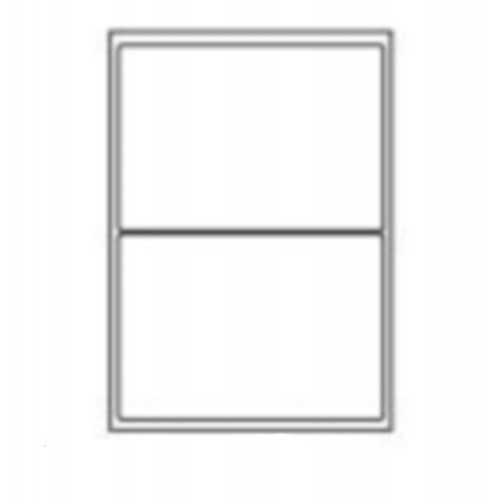 199.6 x 143.5mm (2/Sheet) - A4 Sheet Labels