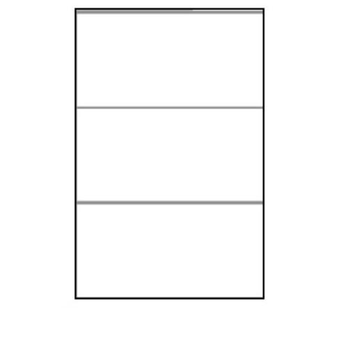 210 x 99mm (3/Sheet) - A4 Sheet Labels (100 Sheets)