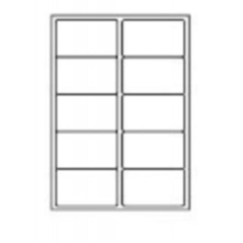 99.1 x 57.3mm (10/Sheet) - A4 Sheet Labels (100 Sheets)