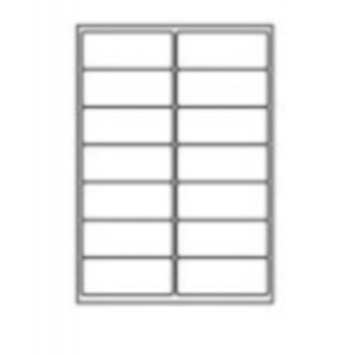 99.1 x 38.1mm (14/Sheet) - A4 Sheet Labels (100 Sheets)