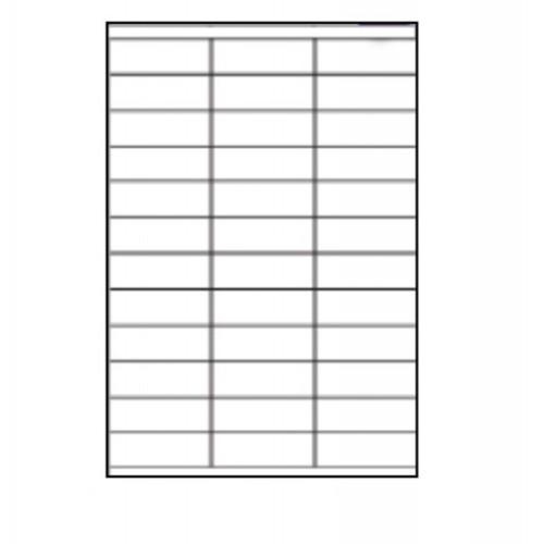 48.9 x 29.6mm (36/Sheet) - A4 Sheet Labels (100 Sheets)