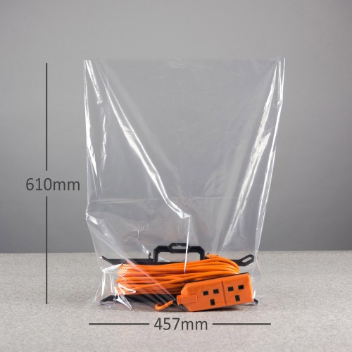 "Clear Polybags (18 x 24"" / 450 x 600mm x 100gauge)"