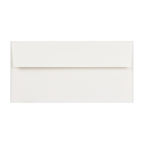 """110x220mm 4 1/4 x 8 5/8"""" DL White 90gsm Self Seal Envelopes - Qty 1000"""