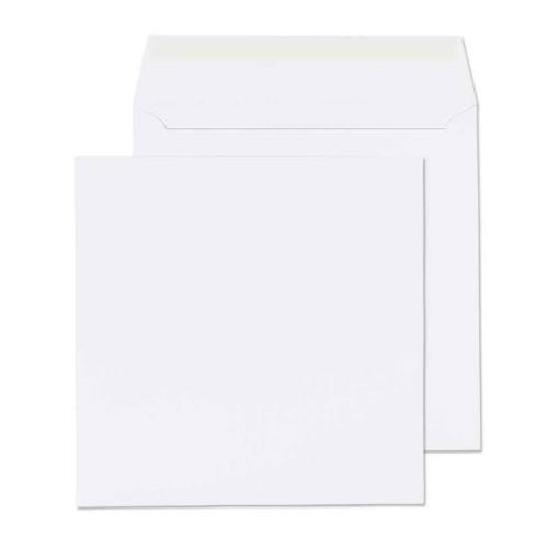 125x125mm White 80gsm Self Seal Envelopes - Qty 100