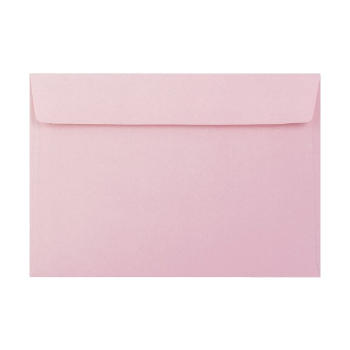162x229mm C5 Pink 90gsm Gummed Envelopes - Qty 100