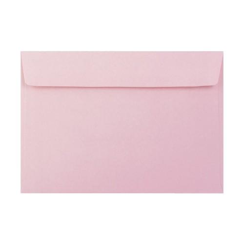 162x229mm C5 Pink 90gsm Gummed Envelopes - Qty 100