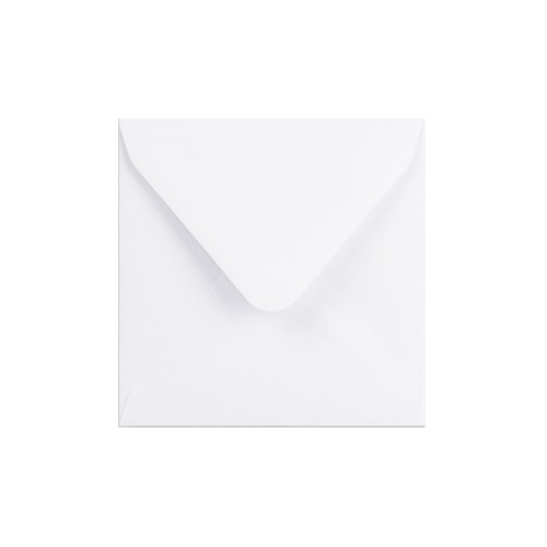 105x105mm White 100gsm Gummed Diamond Envelopes - Qty 100