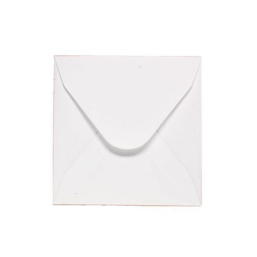 108x108mm White 70gsm Gummed Diamond Envelopes - Qty 100