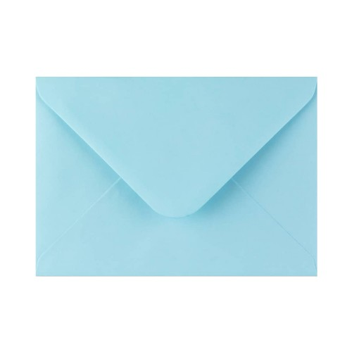 133x184mm Light Blue 100gsm Gummed Diamond Envelopes - Qty 100