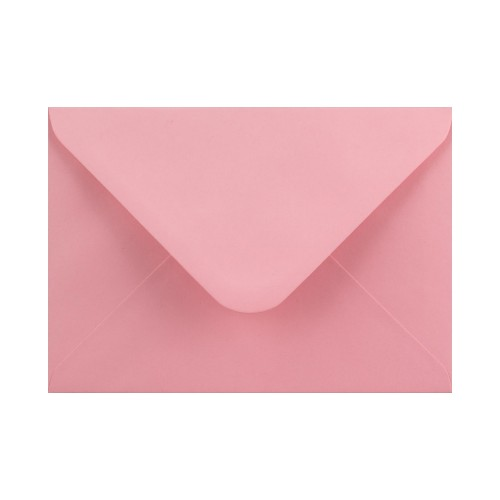 133x184mm Pink 100gsm Gummed Diamond Envelopes - Qty 100