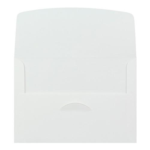 140x200mm White 80gsm Gummed Announcement Envelopes - Qty 100