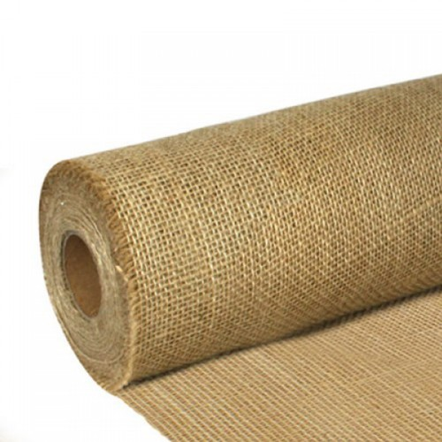 "Hessian Fabric Roll 54"" x 50 yards (1370mm x 46m) 200gsm / 6Oz Cloth"