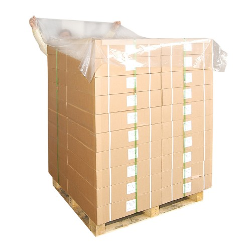 Pallet Top Sheets 'Top Hats' Polythene Dust Covers