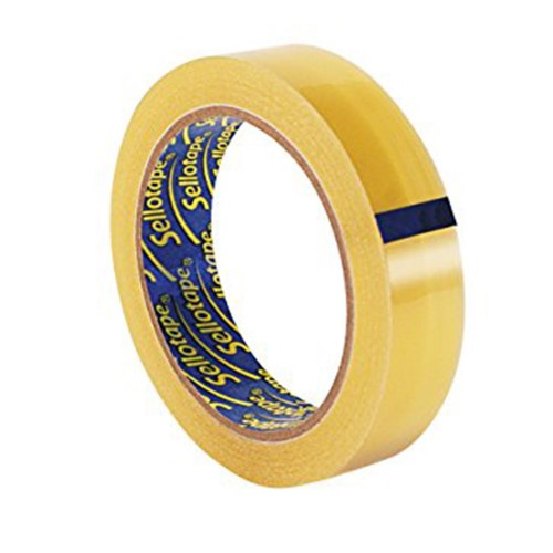 25mm x 66m Clear Sellotape - Office Tape