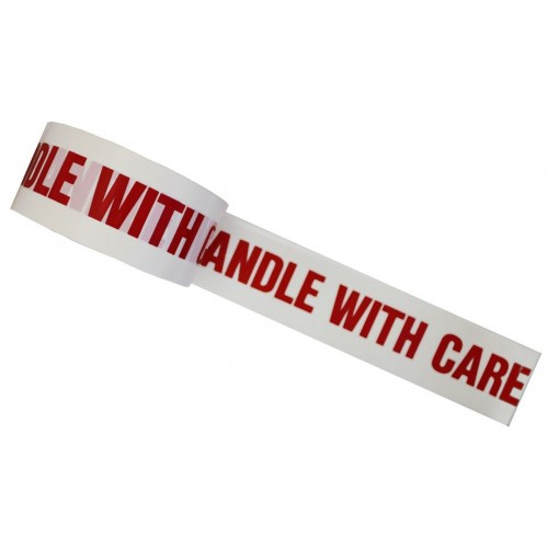 HANDLE WITH CARE - PVC Packing Tape