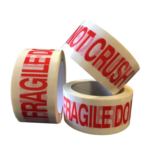 FRAGILE DO NOT CRUSH - PP Packing Tape