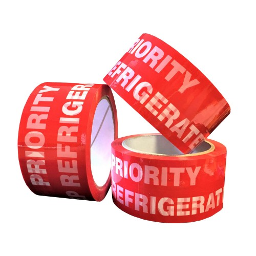 PRIORITY REFRIGERATE - PP Packing Tape