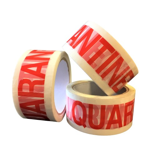 QC Quarantine - PP Packing Tape