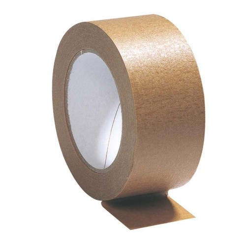 Brown Paper Packing Tape - 48mm x 50m - Box of 24