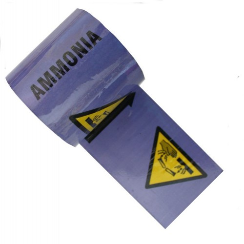 AMMONIA - Colour Printed Pipe Identification (ID) Tape