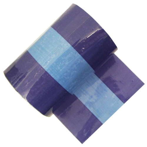 Blue - Banded Pipe Identification ID Tape