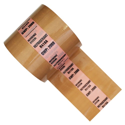 REFRIDGERANT R410A GWP: 2088 - Banded Pipe Identification (ID) Tape