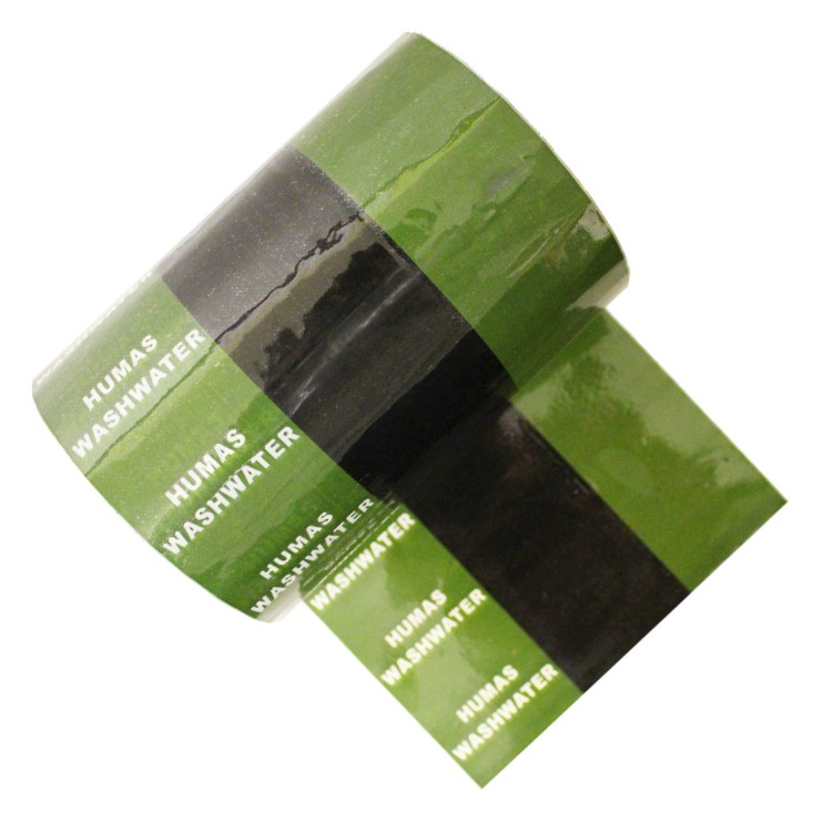HUMAS WASHWATER - Banded Pipe Identification ID Tape