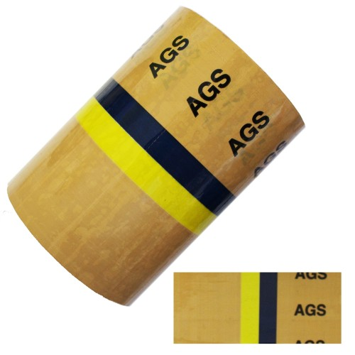 AGS (Anesthetic Gas Scavenging) - BS1710:2014 Medical Pipe Identification (ID) Labels