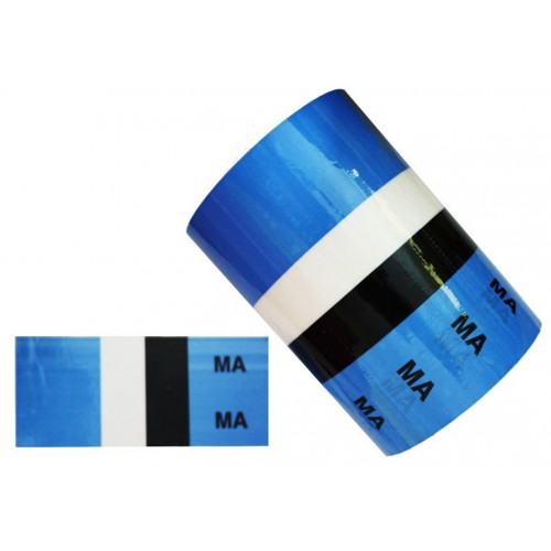 MA (Medical Air) - Medical Pipe Identification (ID) Labels